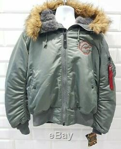 Eric Clapton 2010 North American Tour Men's MA-1 Bomber Flight Hooded Jacket