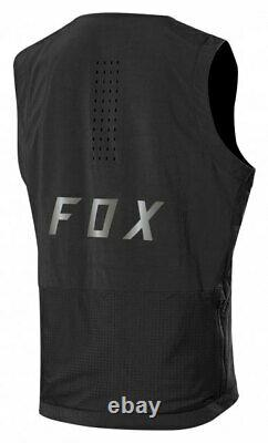 Fox Defend Fire Alpha Vest Black Mountain Bike Gilet Fox Racing Enduro