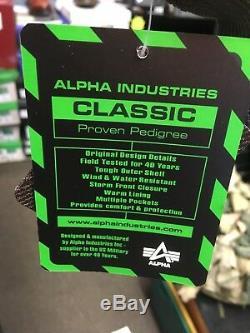 Genuine Alpha Industries CWU 45 Rep Grey Core Line Flight Bomber Jacket