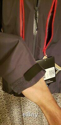 Gray (Pilot) Arc'teryx Alpha SV Men's Jacket Size Medium