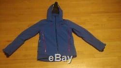 Helly Hansen Alpha 3.0 Jacket Men's Olympian Blue With Red Accents Medium