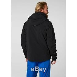 Helly Hansen Alpha 3.0 Men's Insulated Ski Jacket 65551/990 Black NEW