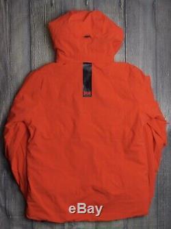 Helly Hansen Alpha 3.0 Mens Ski Jacket Bnwt Genuine £379 Med Skiing Orange Coat