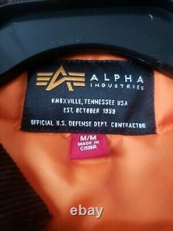J. Crew Editions X Alpha Industries Barn Jacket Medium Army Green Size M