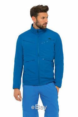 Kjus Macun Alpha Jacket Mens Medium Us 40 Eu 50 Blue Stone