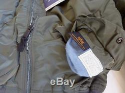 MADE IN USA MA-1 Alpha Industries MEDIUM Pilot Flight Jacket US Army MADE IN USA
