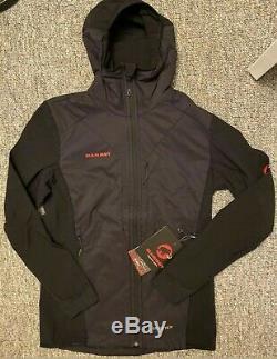 MAMMUT Men's Foraker IN Polartec Alpha Light Hooded Jacket medium NWT