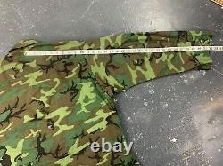 Medium Short ERDL Camo Jungle Jacket Vtg 60s Alpha NOS Mint Clean Slant Vietnam