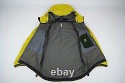 Men's ARCTERYX LEAF ALPHA LT Gore-Tex Pro Shell Jacket Yellow Arc'teryx Size M