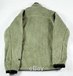 Men's Patagonia R4 Regulator Polartec Full Zip Fleece Jacket Alpha Green Medium