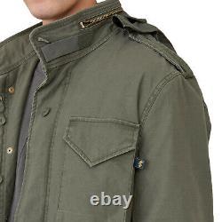Mens Alpha Industries M-65 Defender Field Jacket Olive
