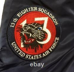 Mens Alpha Industries RBF Remove Before Flight MA-1 Bomber Jacket