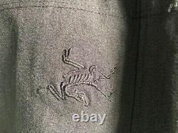 Mens Arcteryx LEAF Gryphon Hybrid Jacket Black Medium I UKSF Alpha