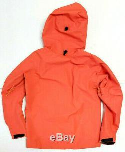 Mens Arcteryx Orange Alpha SV Gore Tex Pro Hardshell Ski Snowboard Jacket Small