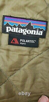 Military Issued Patagonia Polartec Alpha L3A Light Loft Shell Wind Jacket-MR