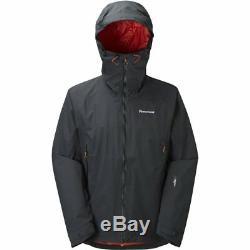 Montane Axion Neo Alpha Mens Black Waterproof Windproof Jacket Medium RRP £360