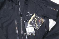NEW 2019/20 ARC'TERYX Alpha SV Jacket Black MSRP $785.00 NWT