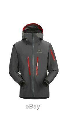 NEW Arc'teryx Alpha SV Jacket Men's Medium Pilot Grey Goretex Pro NWT
