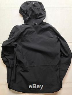 NEW Arcteryx Alpha SV Jacket, Mens Medium M, Black, with tags, made in Canada