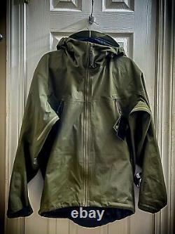 NEW Arcteryx LEAF Alpha Jacket Lt Gen2 18864-286623 -Ranger Green M Medium