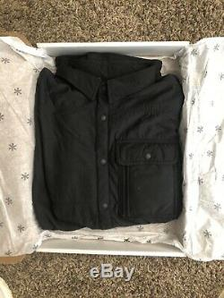 NEW Snow Peak Flexible Insulated Shirt Jacket Polartec Alpha Grey Size Large