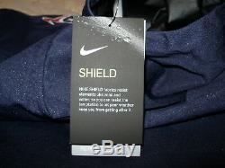 NFL Houston Texans Nike Shield Alpha Fly Rush 1/4 Zip Hoodie Jacket Men's Medium
