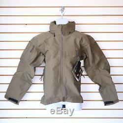 NWT Arc'teryx LEAF Alpha Gen 2 Jacket color Crocodile Made in Canada Military