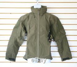 NWT Arc'teryx LEAF Alpha Gen 2 Jacket color Ranger Green Made in Canada Military