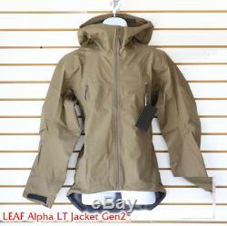 NWT Arc'teryx LEAF Alpha Jacket LT Gen 2 Crocodile Made in Canada Military