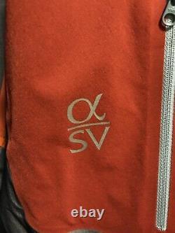 NWT Arcteryx Alpha SV Jacket Mens Medium Trail Blaze MSRP &799