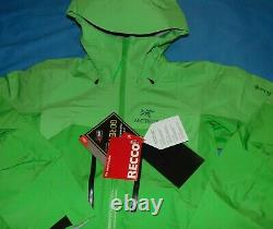 NWT WOMEN'S ARCTERYX ALPHA AR GORE-TEX PRO HOODED JACKET with RECCO M $599