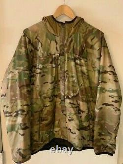 New A3 Alpha Lochi Jacket Black/multicam Sz Med
