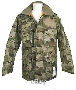 New Burton & UNDEFEATED Alpha Industries MA 65 Trench Jacket! Camo (camouflage)