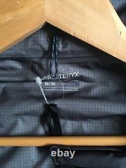 New Mens Arcteryx Alpha FL GORE-TEX Waterproof Jacket Labyrinth Teal Medium M