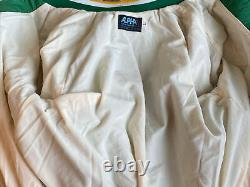 Nice! Vintage MLB Oakland A's Athletics Satin Jacket Alpha Size Large