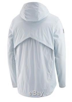 Nike New England Patriots Super Bowl 52 Alpha Shield Media Day Jacket Size M