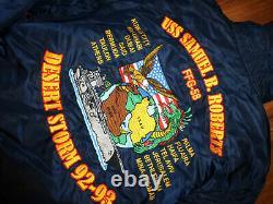 Nwt Alpha Industries Desert Storm Cruise Blue Flight Jacket Size M