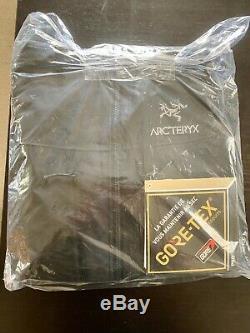 Nwt Arcteryx Alpha Sv Jacket Goretex Pro N100p Black / Medium Authentic