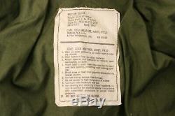 OG-107 Vietnam Era 1975 Cold Weather Field Coat M-65 US Army Alpha Ind Med Short