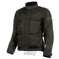 Olympia Men's Alpha Mesh Tech Jacket Loden (Olive) sz Medium