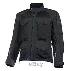 Olympia Men's Alpha Mesh Tech Jacket Slate (Black) sz Medium