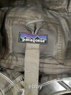 PATAGONIA PCU L6 Level6 Alpha Gray Wet Weather GORETEX JACKET Medium #4C4
