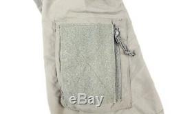 Patagonia Alpha Grey Medium Regular Soft Shell Level 5 Combat Jacket Coat L5 PCU