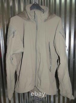 Patagonia Alpha Grey Medium Regular Soft Shell Level 5 Combat Jacket L5 PCU G-4