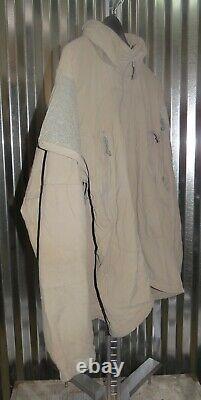 Patagonia Alpha Grey Medium Regular Soft Shell Level 5 Combat Jacket L5 PCU G-6