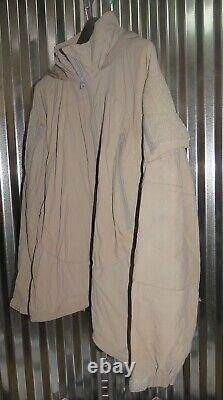 Patagonia Alpha Grey Medium Regular Soft Shell Level 5 Combat Jacket L5 PCU K-1
