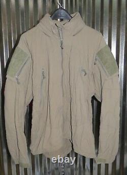 Patagonia Alpha Grey Medium Regular Soft Shell Level 5 Combat Jacket L5 PCU K-4