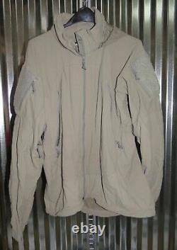 Patagonia Alpha Grey Medium Regular Soft Shell Level 5 Combat Jacket L5 PCU P-1