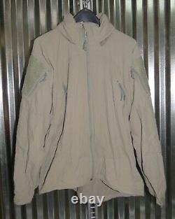 Patagonia Alpha Grey Medium Regular Soft Shell Level 5 Combat Jacket L5 PCU P-2