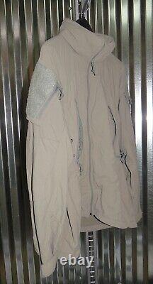 Patagonia Alpha Grey Medium Regular Soft Shell Level 5 Combat Jacket L5 PCU P-5